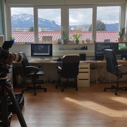 Bureau de Bokeh Production à Grenoble