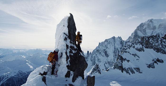 Vivian et Luise en alpinisme Mont Blanc