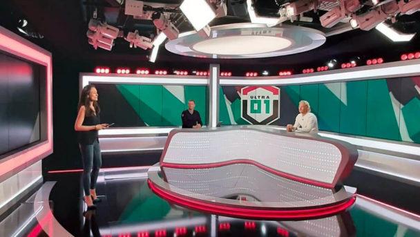 plateau infosport plus emission de lancement ultra 01