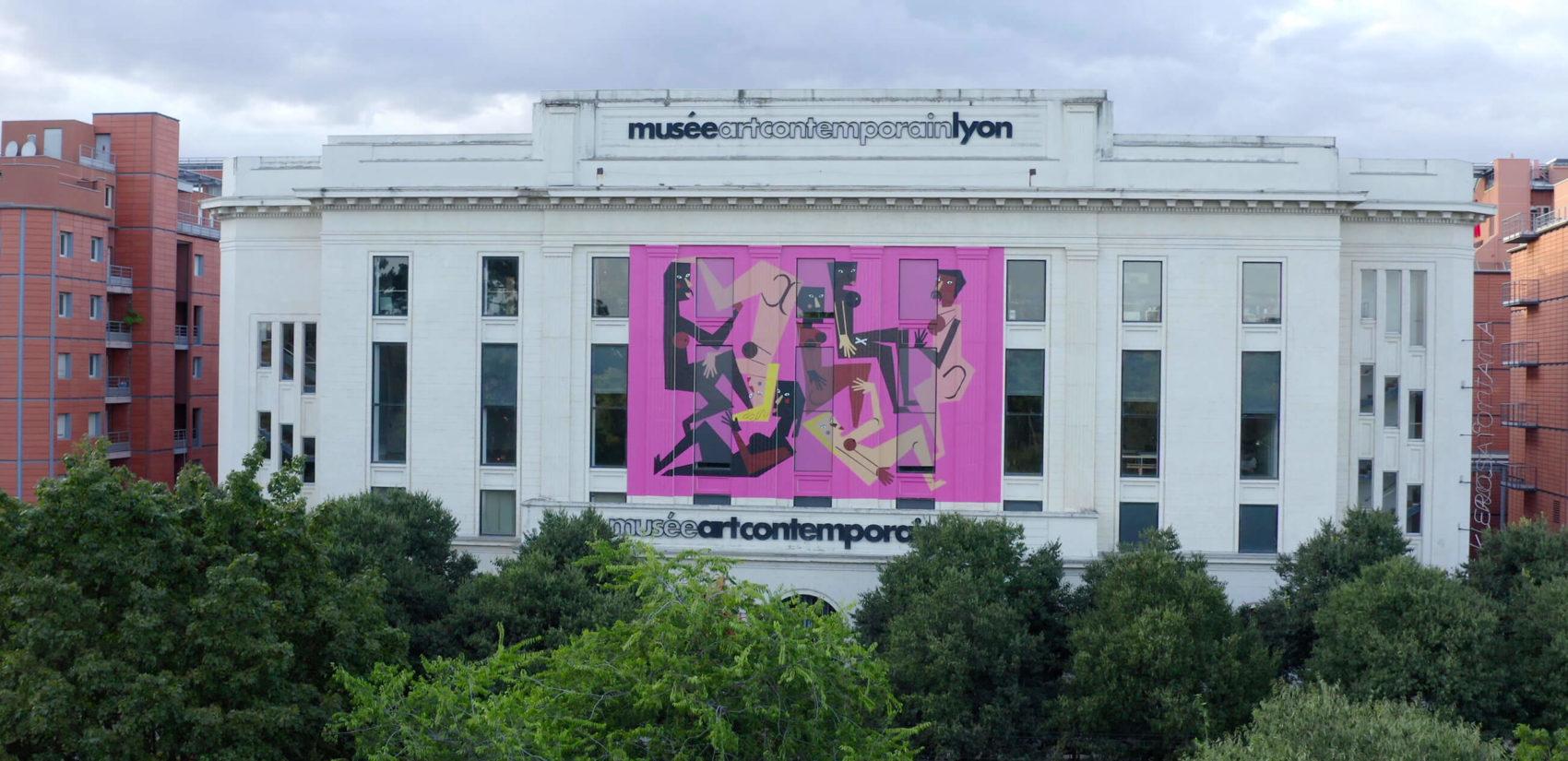 façade du musée d'art contemporain de lyon