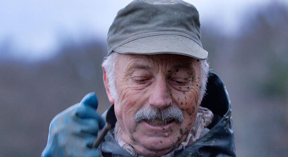 Portrait d'un pêcheur des Dombes