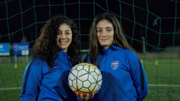 Portrait équipe de foot féminine